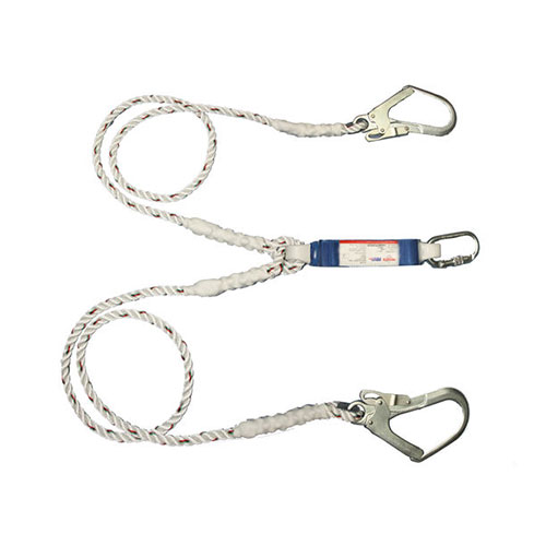 3M Protecta First Twin Shock Absorbing Lanyard