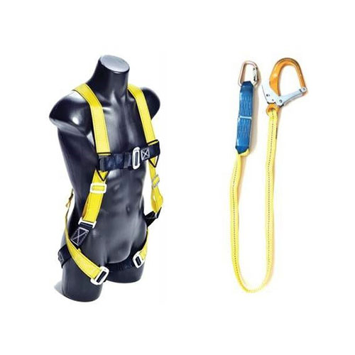 Guardian Full Body Harness with Single Lanyard Size S-L