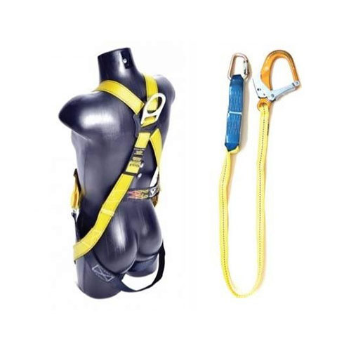 Guardian Full Body Harness with Single Lanyard Size XL-2XL