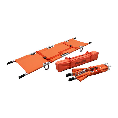 Double Folding Emergency Stretcher