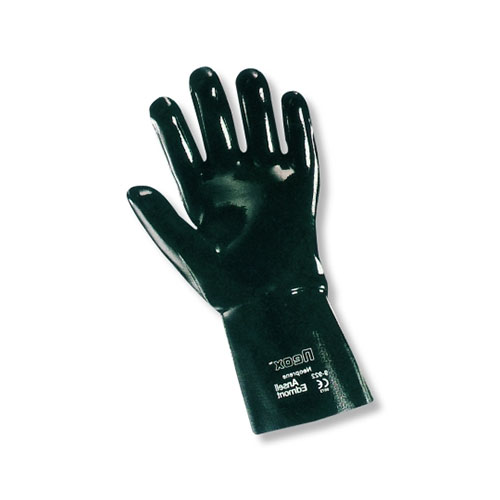 Chemical Resistant Ansell Scorpio Neoprene 14 inch Gauntlet Fully Coated Glove