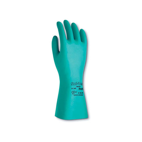 Chemical Resistant Ansell Sol-vex Nitrile Glove