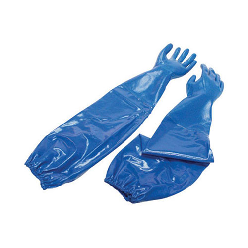 Chemical Resistant Honeywell North Nitri-Knit Supported Nitrile Glove