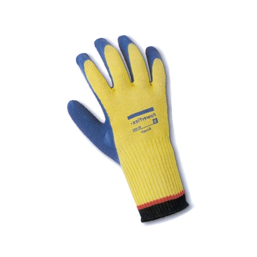Cut Resistant Ansell PowerFlex Kevlar with Latex Coating Glove