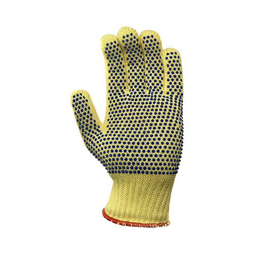 Cut Resistant GoldKnit Dotted Glove