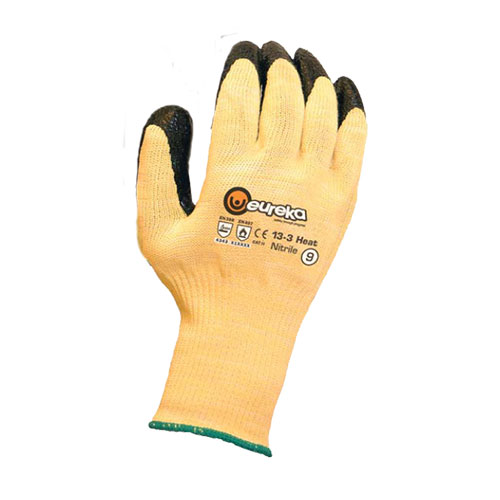 Cut Resistant with heat resistant glove