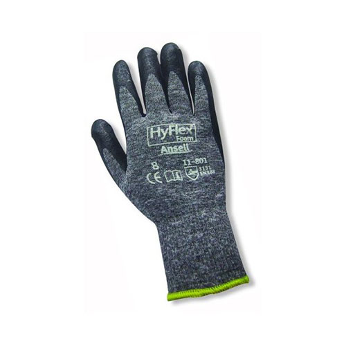 General Use Ansell HyFlex Foam Grey Nylon Liner Glove