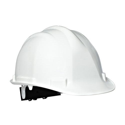 Helmet White 4 Point Pin Lock