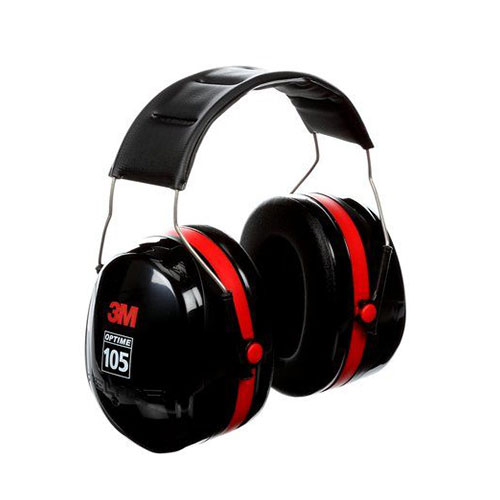 3M Peltor Optime 105 Over The Head Earmuffs
