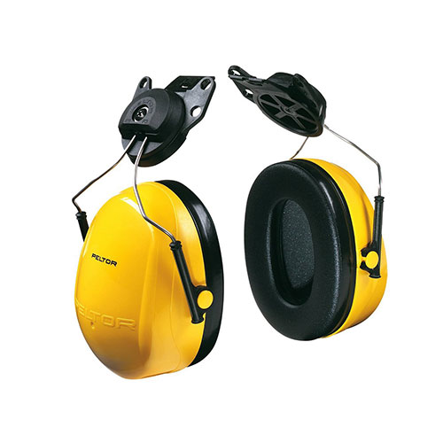 3M Peltor Optime 98 Helmet Attachable Earmuff