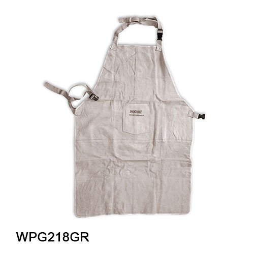 Apron-Leather Protective Gray