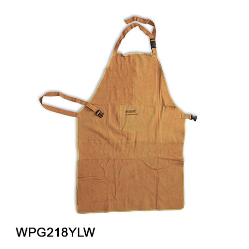 Apron-Leather Protective Yellow