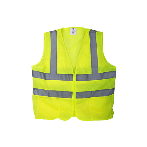 Safety Vest- Yellow Mesh