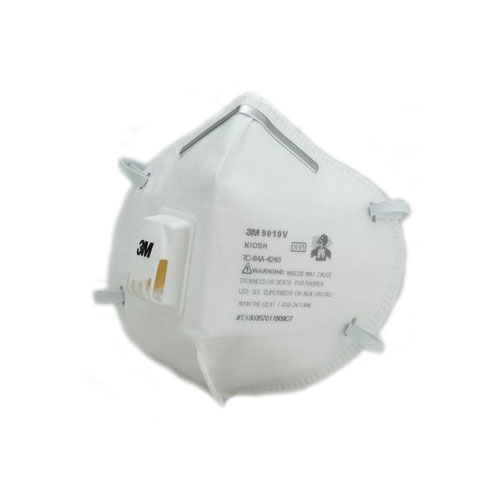 3M 9010 N95 Particulate Respirator with Valve