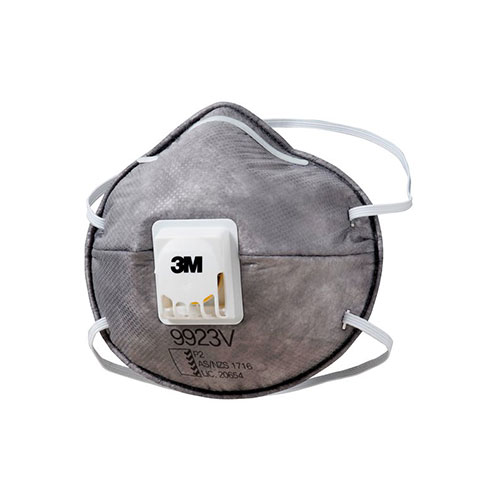 3M 9923V Cupped P2 Particulate Respirator with Valve