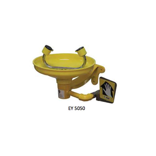 Emergency Wall Mounted Eyewash ABS Bowl