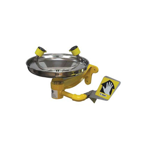Emergency Wall Mounted Eyewash SS Bowl