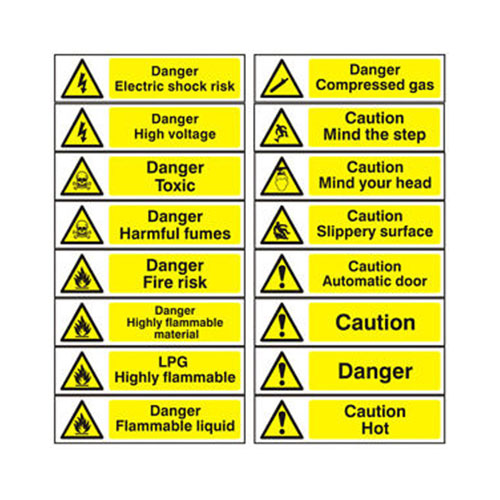 Hazard Warning Signs (Long)