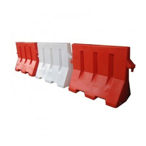 Traffic Barrier Red & White