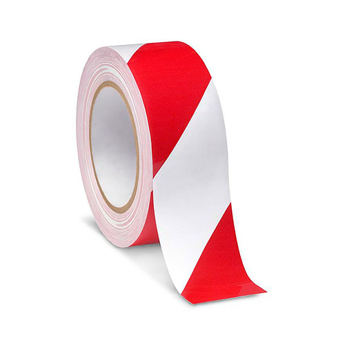 Floor Tape Red & White